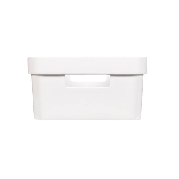 Curver Infinity Opbergbox - 11L - Wit - 100% Recycled