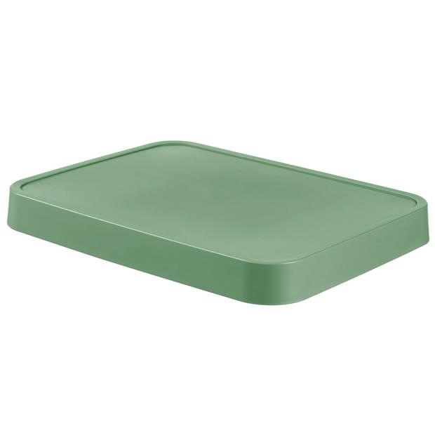 Curver Infinity Deksel - 11+17L - Groen - 100% Recycled