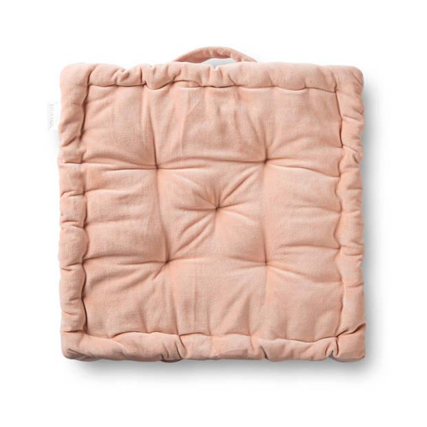 Blokker matraskussen Sevilla - roze - 40x40 cm
