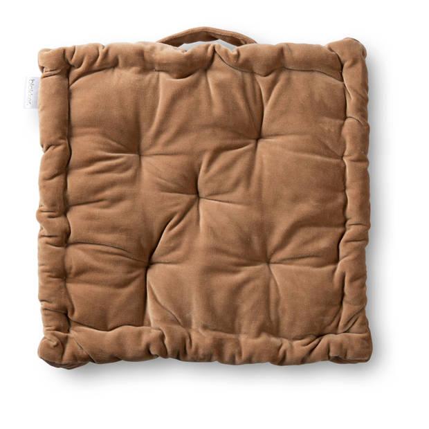 Blokker matraskussen Sevilla - taupe - 40x40 cm