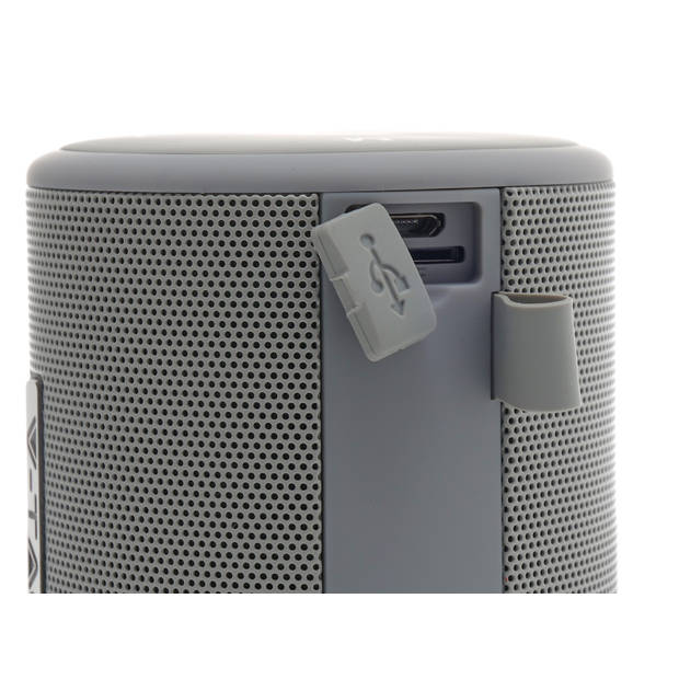 V-tac VT-6244 Portable bluetooth speaker - grijs