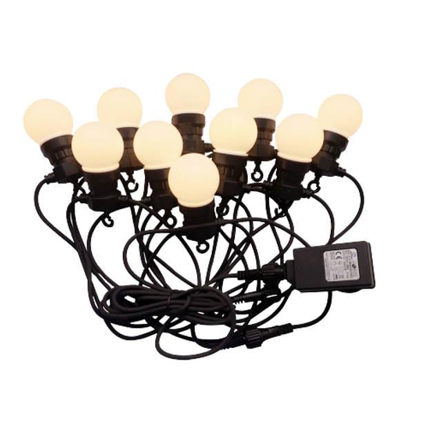 V-tac VT-70510 Lichtsnoer - Waterdicht - 10 LED Lampen - 3000K - 5M