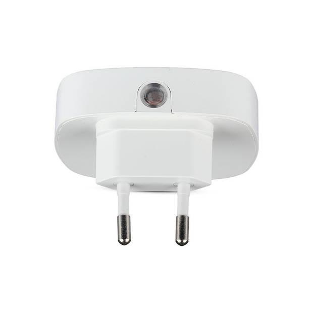 V-tac VT-82 nachtlampje stopcontact - vierkant - warm wit