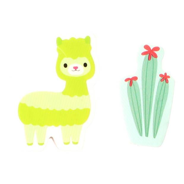 LG-Imports gum alpaca & cactus 3,5 cm groen