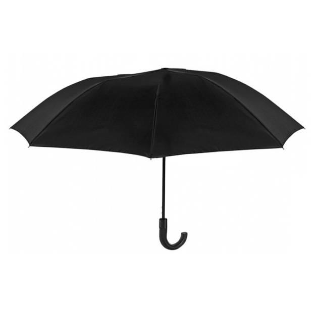 Perletti paraplu 95 cm automatisch unisex zwart