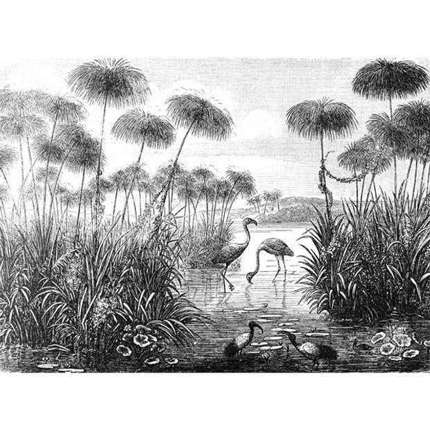Schilderij Retro Natuur