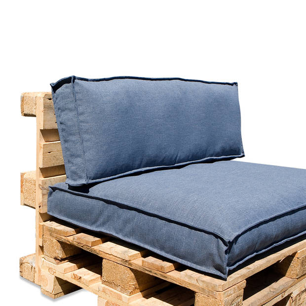 In The Mood Collection In The Mood Palletkussenset Salvador Faded Blauw