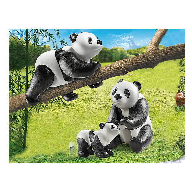 Playmobil Family Fun 2 panda's met baby 70353