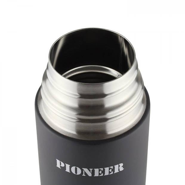 PioneerbyGrunwergThermosfles-500ml- zwart