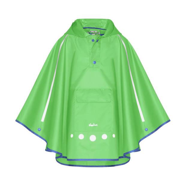 Playshoes regenponcho opvouwbaar groen junior