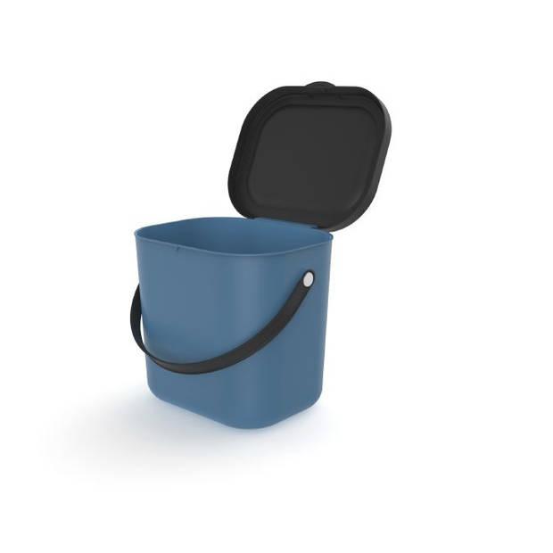 Rotho Albula afvalbak - 6 liter - blauw