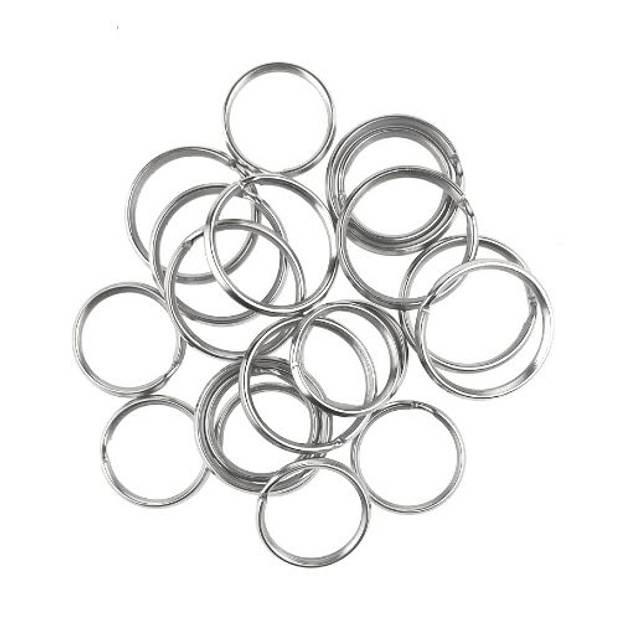 Orange85 Sleutelringen klein - 20 stuks - sleutels - ringen