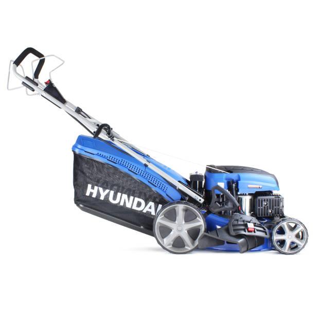 Hyundai zelfrijdende grasmaaier 139cc - benzine motor - met elektrische start