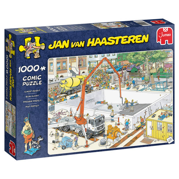 Jan van Haasteren bijna klaar? - 1000 stukjes
