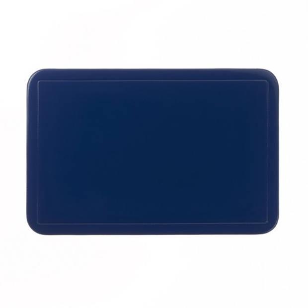 Set van 6 - Placemat, Donker Blauw - Kela Uni