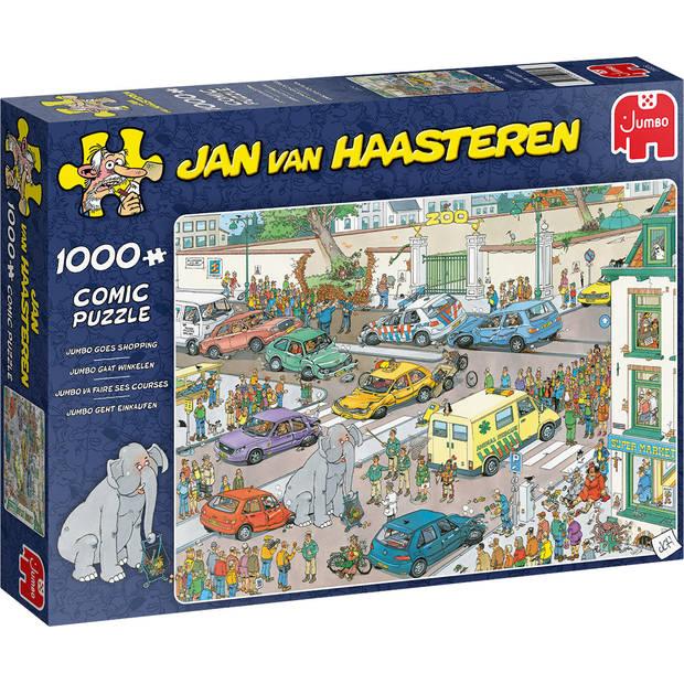 Jan van Haasteren Jumbo gaat winkelen - 1000 stukjes