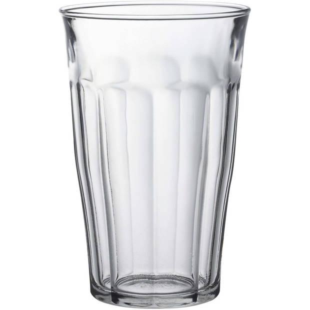 12x Longdrinkglazen 500 ml - 50 cl - Longdrink glazen - Water/sap/koffie/thee pglazen - Longdrink glazen van glas