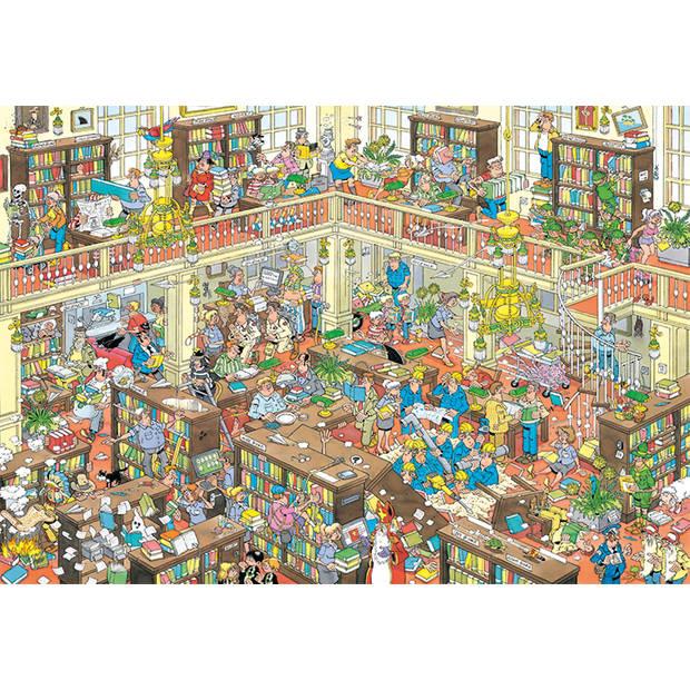 Jan van Haasteren De Bibliotheek - 2000 stukjes