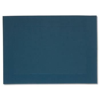 Korting Set Van 4 Placemat, Blauw Kela Nicoletta