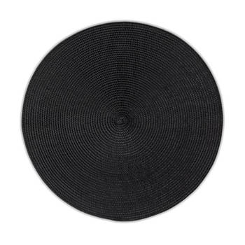 Korting Set Van 2 Placemat, Zwart Kela Kimya