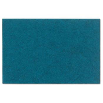 Korting Set Van 4 Placemat, Blauw Kela Alia