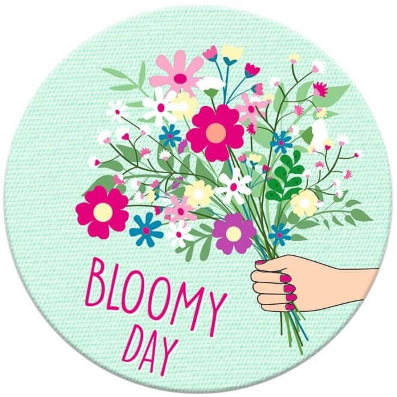 Korting Moses Magneet Bloomy Day 5,5 Cm Mintgroen