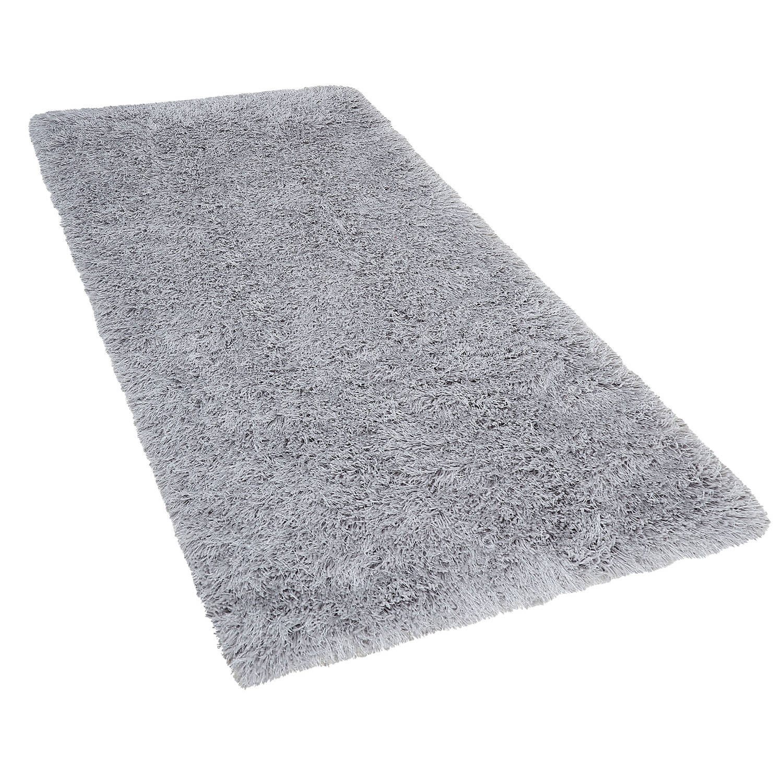 Korting Beliani Cide Vloerkleed grijs polyester