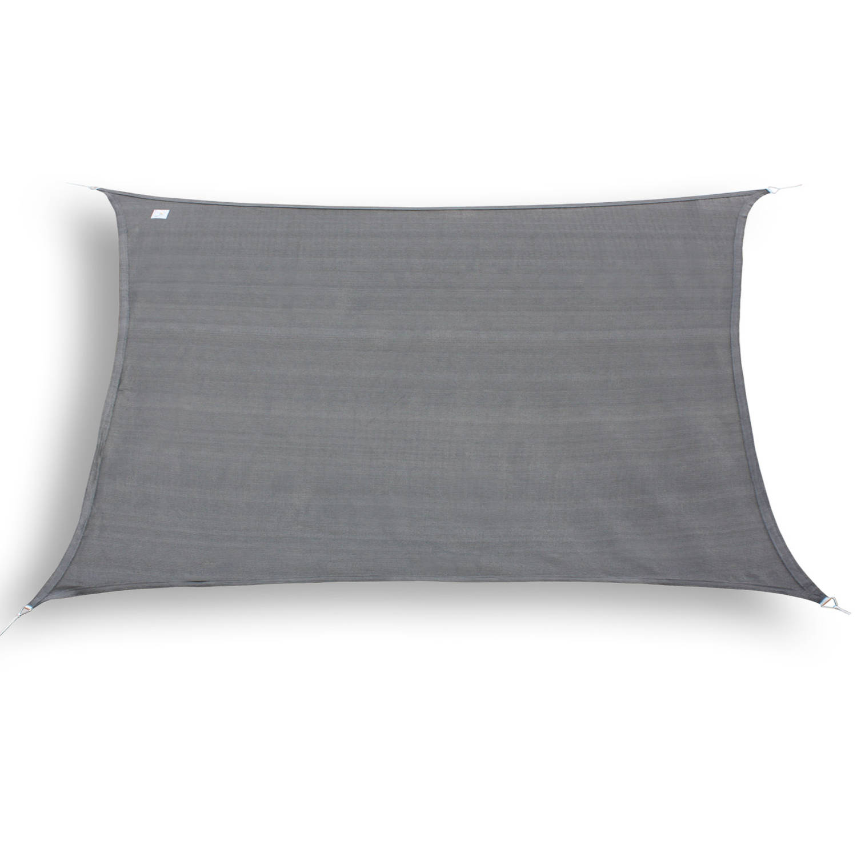 Hanse® Rechthoekig Waterdoorlatend Schaduwdoek 2 X 5 M Grijs
