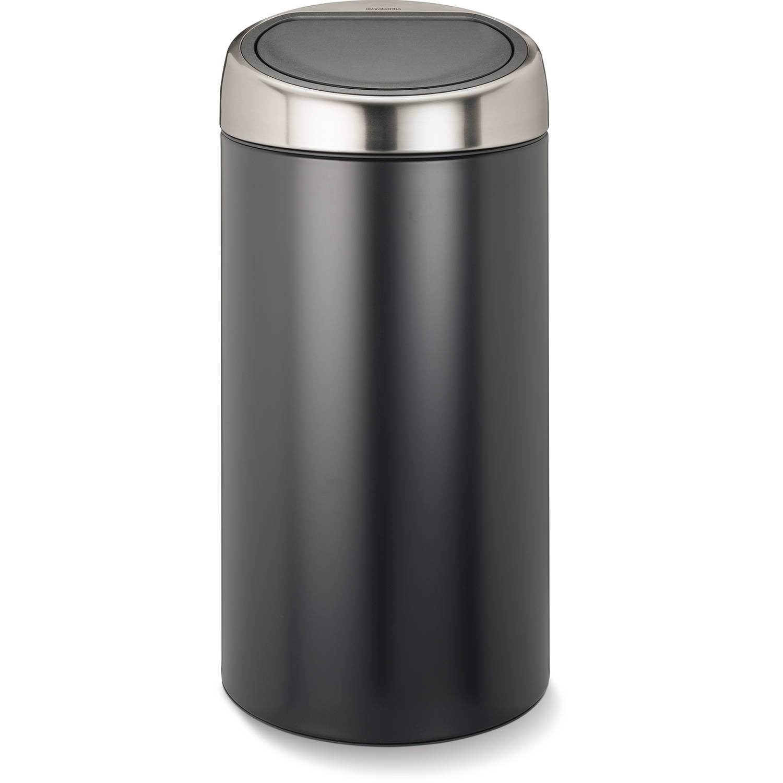 Korting Brabantia Touch Bin afvalscheider 2 x 20 liter matt black