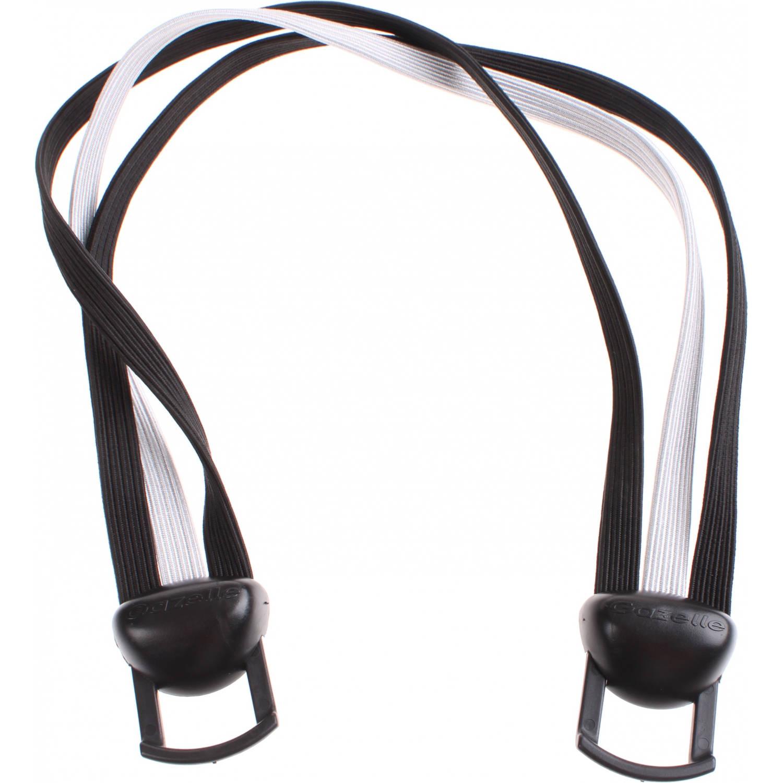 Korting Gazelle snelbinder Power Vision 28 inch zwart zilver