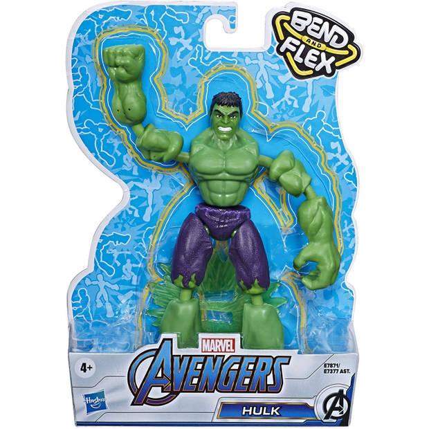 Marvel Avengers Bend en Flex 15 cm Hulk