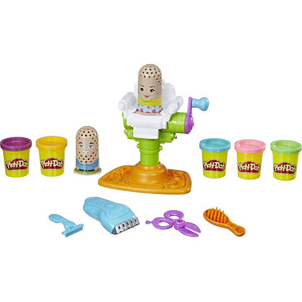 Play-Doh Trim- en Scheersalon - speelset klei