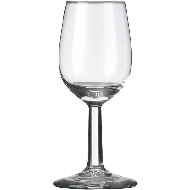 12x Likeur/borrelglazen transparant 70 ml Bouquet serie - 7 cl - Likeurglazen
