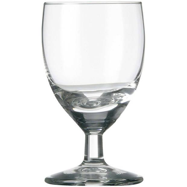 12x Likeur/borrelglazen transparant 60 ml Gilde serie - 6 cl