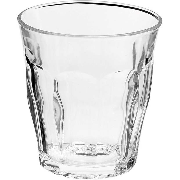 6x Drinkglazen/waterglazen Picardie transparant 310 ml - Koffie/thee glazen Picardie 310 ml