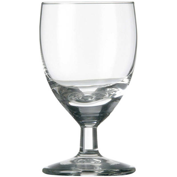 6x Likeur/borrelglazen transparant 60 ml Gilde serie - 6 cl