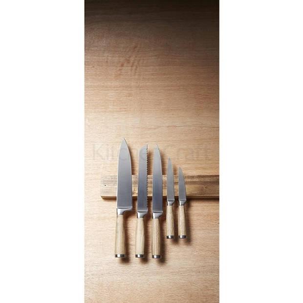 Magnetisch Messenrek Acacia 45x6cm - KitchenCraft Natural Elements