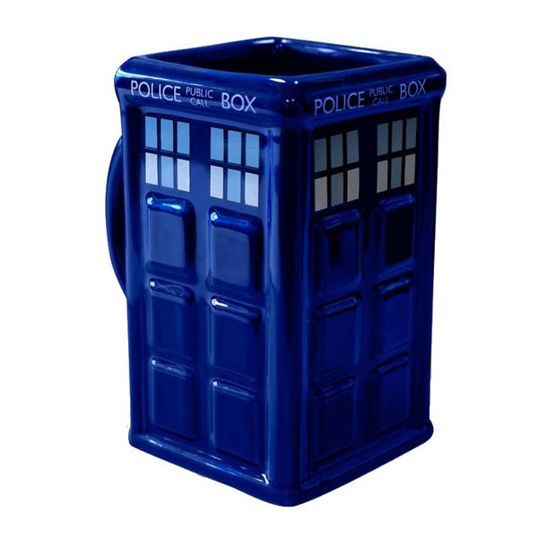 GB Eye mok Doctor Who Tardis 475 ml blauw
