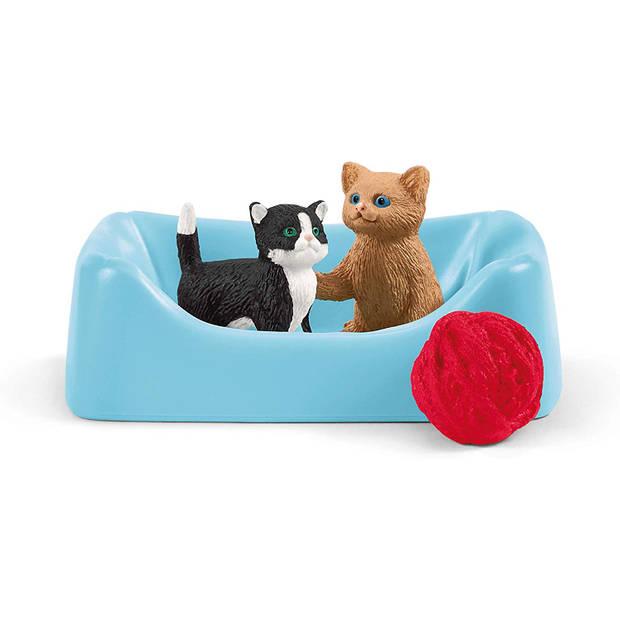 Schleich Boerderij - Speeltijd Voor Schattige Katten 42501