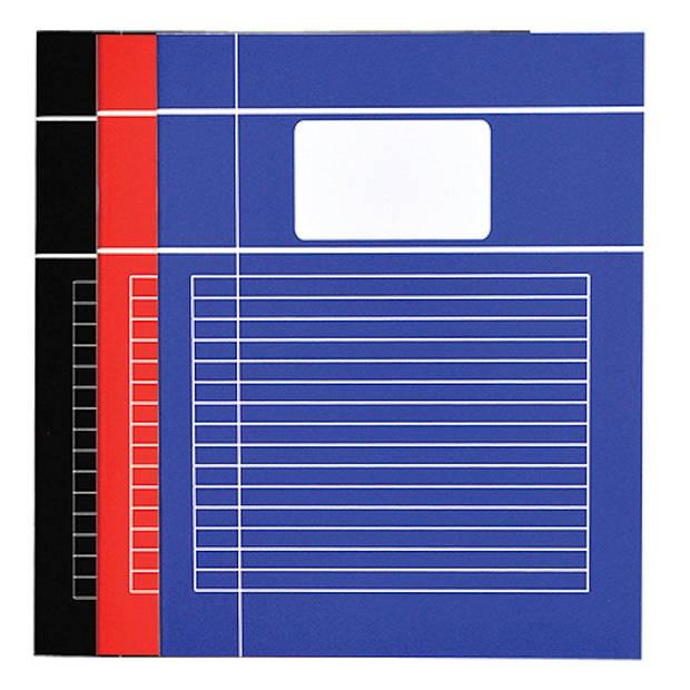 SOHO Schriften A4 lijn Basic 5 stuks