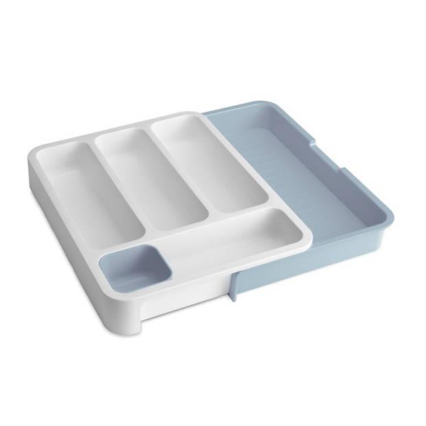 Keukenlade Organiser - DrawerStore - Wit/Blauw / Joseph Joseph