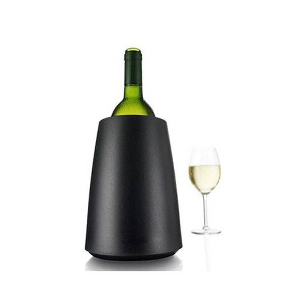Vacu Vin Set van 2 - Actieve wijnkoeler - Elegant zwart - Vacuvin
