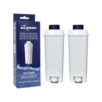 Korting Allspares Delonghi Waterfilter (2st.) Dlsc002