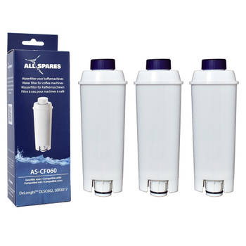 Korting Allspares Delonghi Waterfilter (3st.) Dlsc002