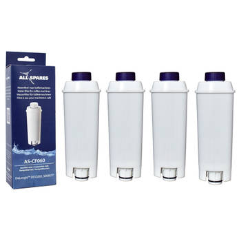 Korting Allspares Delonghi Waterfilter (4st.) Dlsc002