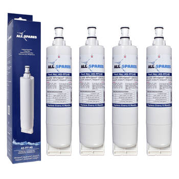 Korting Allspares Whirlpool bauknecht Waterfilter (4st.) Sbs002 Sbs200