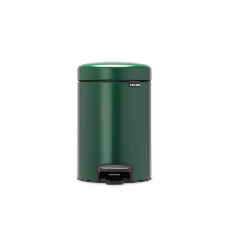 Korting Brabantia newIcon pedaalemmer 3 liter met kunststof binnenemmer Pine Green