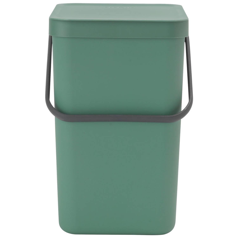 Korting Brabantia Sort en Go afvalemmer 25 liter Fir Green