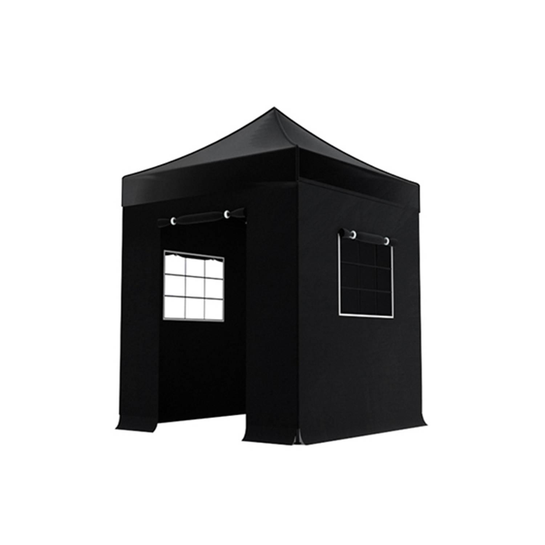 Easy Up 2x2m Zwart Luxe Partytent (Voorbestelling)