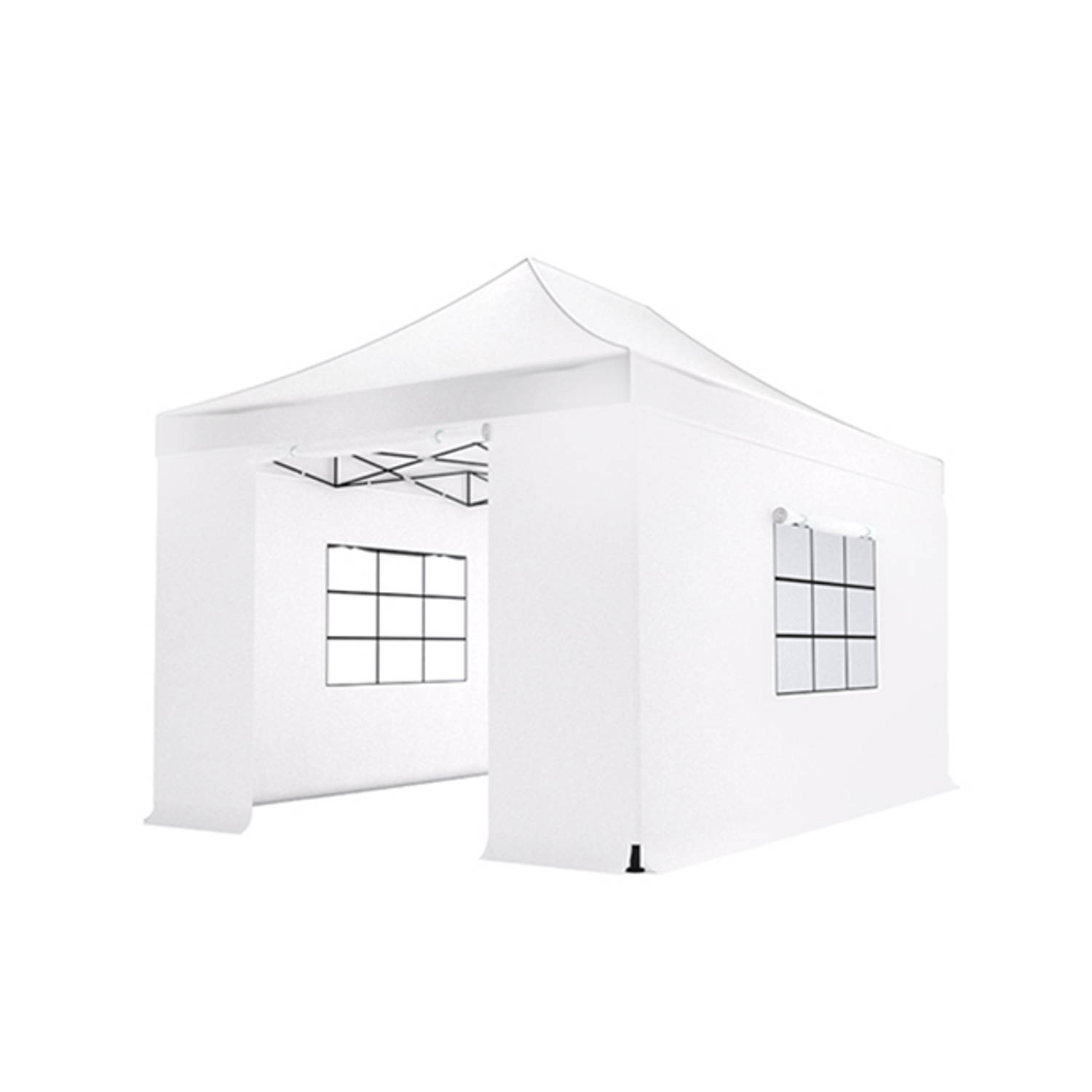 Easy up 3x45m wit luxe partytent